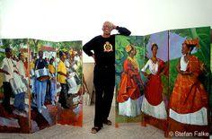 Boscoe Holder - quintessential Caribbean Artist@joireinbolddesign.blogspot.com