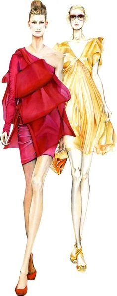 fashion sketches 7