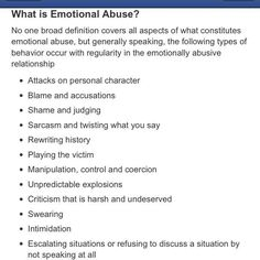 Silence can also be a way to protect yourself from further abuse. Look beyond the what is for the why's.