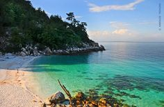 Pick of the day #54 - Thassos, Marble Beach   Promote Greece