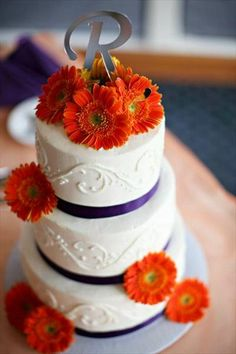 purple and orange wedding cake ideas 1000 images about purple and orange wedding colors on 18864