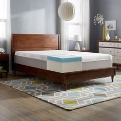Shop for Slumber Solutions Choose Your Comfort 14-inch Queen-size Gel Memory Foam Mattress. Get free shipping at Overstock.com - Your Online Furniture Outlet Store! Get 5�0in rewards with Club O! - 15869800