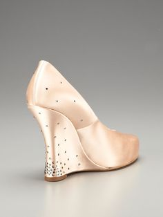 Bam Crystal Wedge Pump by Tabitha Simmons at Gilt