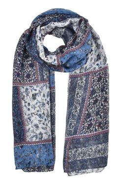 Vintage Floral Patchwork Floral Navy Multi Pashmina Scarf Wrap Shawl Xmas Gifts #UNBRANDED #Scarf