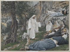 """Jesus Commands His Apostles to Rest"" by James Tissot"