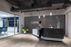 Reception Desk Design, Lobby Reception, Office Reception, Waiting Area, Real Estate Services, Commercial Real Estate, Environment Design, Fort Lauderdale, South Florida
