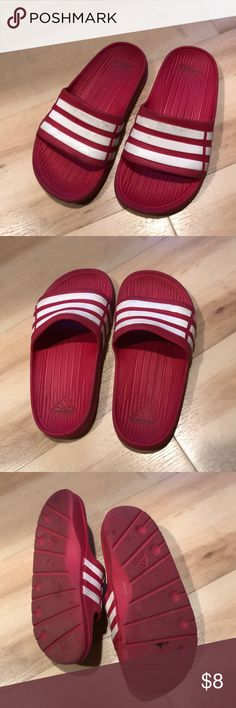 8c87e184123a7c Adidas slippers Red adidas slide for kids size 11 adidas Shoes Slippers Kids  Slide