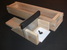 Adjustable Soap Mold Cold Process 5 to 1 LB Wood Wooden Mold Loaf Soap Bar Cutter 1-877-246-6868. $55.50, via Etsy.