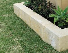 Beautify Your Garden with Concrete Edging Concrete Edging, Stone Edging, Landscape Edging, Garden Edging, Fresco, Limestone Block, Flower Bed Borders, Small Backyard Landscaping, Landscaping Ideas
