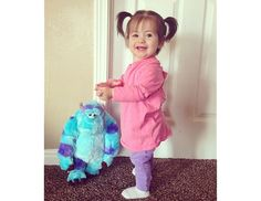 Monsters, Inc. DIY Halloween costume