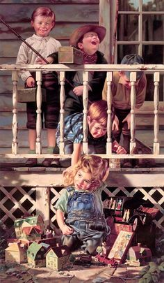 """""""Irresistible"""" by Bob Byerley - This reminds me of me being pestered by my older brothers :)"""