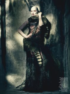 Kate Moss by Paolo Roversi for W Magazine | Shot at Lock Studios