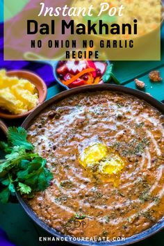 Dal Makhani is an exotic vegetarian dish made out of lentils and beans which needs no introduction. A north Indian lentil dish specifically from the region of Punjab has been known and popular for its creamy, silky and melt in mouth textures. It would be hard to resist a bowl of warm dal makhani when topped with cream and butter. #Dalmakhani #Indianrecipe #Lentilrecipe #InstantpotRecipe #VegetarianRecipe #GlutenfreeRecipe #VegetarianMeal #Dalrecipe #NorthindianRecipe #PressurecookerRecipe