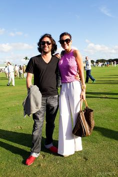 Weekender: Sunday Polo Best Dressed January 6th- Tommy Morrison and Sarah Scheffer