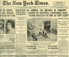 New York Times (newspaper),  New York, New York.  Wednesday, March 14, 1928.