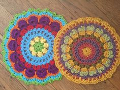 anne's cotton #crochet #mandalasformarinke