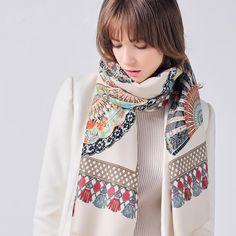 Peak Wool Printed Scarf   #men #coat #womensfashion #scarf #christmas #tshirt #sale #merrychristmas #sweatshirts #backpacks
