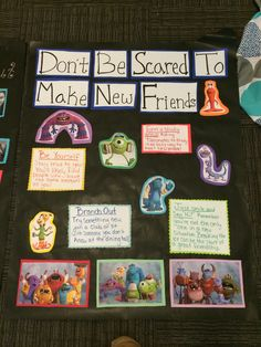 My monsters inc themed floor for freshman #ra bulletin board