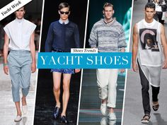 Wearing brogues or boots on a Yacht is overkill! Find out what are the best Yacht Shoes.