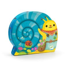 Snail Goes Plant Picking puzzle from the Djeco collection. A beautifully designed jigsaw puzzle by Djeco that comes in a snail shaped box will keep the little ones amused and entertained for hours Wooden Puzzles, Jigsaw Puzzles, Snails In Garden, Shelves In Bedroom, Cool Toys, Little Ones, Gifts For Kids, Product Launch, Presents