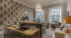 £135 Haymarket Apartments offers accommodation in Edinburgh. EICC is 300 metres from the property. Free WiFi is featured throughout the property.