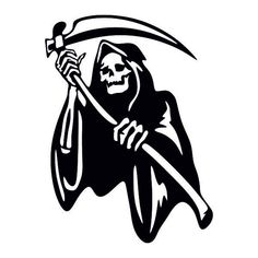 Grim Reaper Art, Grim Reaper Tattoo, Grim Reaper Drawings, Harley Davidson Images, Black Artwork, Skull Artwork, Emo Wallpaper, Heavy Metal Art, Doodle Tattoo