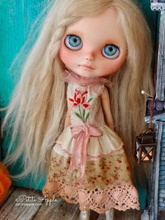 Blythe doll and dress by Petite Apple