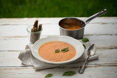 Geröstete Tomaten-Kokossuppe