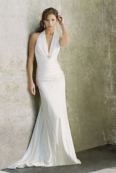 Wedding Dresses for Women Over 50 | ... , extra train or whatever ...