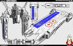 Macross SDF-1 WIP 002 by ~cosedimarco on deviantART