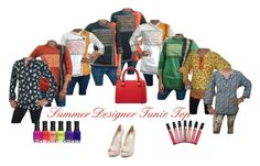 """Summer Designer Tunic Tops"" by mogul-interior on Polyvore"