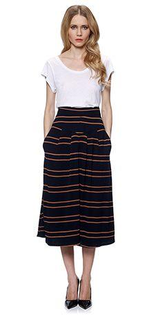midi skirt! #skirt
