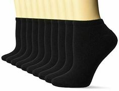 6 Ladies Gentle Grip® Cotton Non Elastic Socks UK 4-8 SOLRG68G3 Black