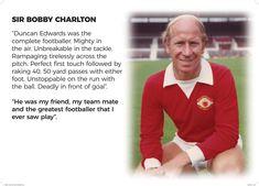 Duncan Edwards, Bobby Charlton, Manchester United, The Unit, Goals, Sport, Deporte, Man United, Sports