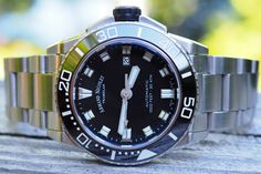 Armand Nicolet JS9 A480AGN-NR-MA4480AA Watch Review Beach Attire, Back To Black, Stainless Steel Bracelet, Luxury Watches, Fancy Watches, Beach Outfits, Beach Clothes