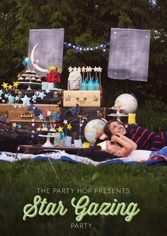 A Stargazing Party put on by a handful of diy and party bloggers.