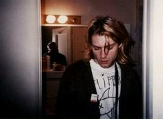 """""""Friends are nothing but a known enemy"""" -Kurt Cobain"""
