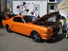 Beautiful Mustang Fastback