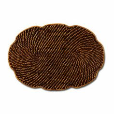 Placemats Rattan Set of 4 Place Mats by Keller Charles. $59.00. Set of 4 oval scalloped rattan placemats. Ships fast from Decorative Things, NYC.. Woven wicker design with wavy oval shape. For casual dining or everyday.. Placemats Rattan Set of 4 Place Mats