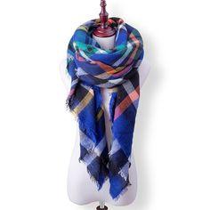 9d2379cccd2c4 SOUHAITE CLUB De Mode D hiver Écharpe Pour Fille Femmes Marque Dames Écharpe  En Cachemire