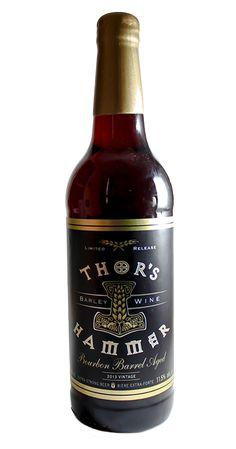 Bourbon Barrel Aged Thor's Hammer Barley Wine | Central City Brewing Company