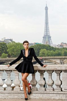 Ph: Vitaliy Sharyy/ Model: Alexandra Rudocan/ Styling & MUA: Maricel Cena/ Designer:Anna Crivaro/ Location: Puente Alexandre III, Paris