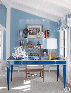Design by Christopher Maya. From Architectural Digest.
