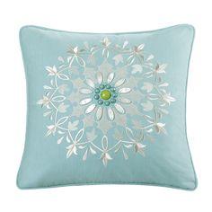 """""""Echo design"""" Sardinia cotton throw pillow"""