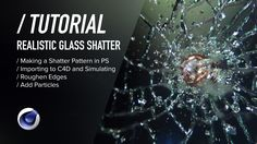 Learn how to making a realistic procedural glass shatter effect in Cinema 4D…
