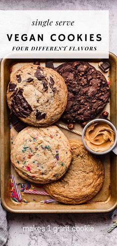 Biscuits Végétaliens, Cookies Et Biscuits, Vegan Biscuits, Easy Baking Recipes, Vegan Dessert Recipes, Healthy Desserts, Healthy Vegan Desserts, Healthy Cookie Recipes, Diet Desserts