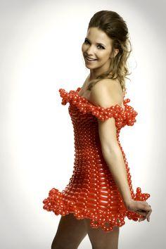 Balloon Dress Model - Jackie Whitson, Photographer - Bryan Kinkade