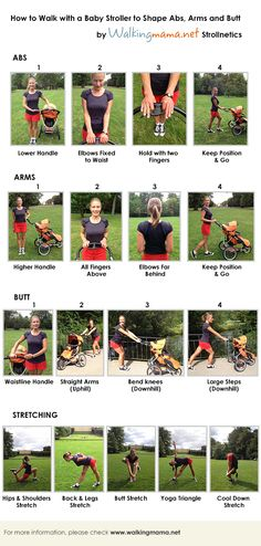 Stroller Fitness Invisible Exercises | Strollnetics by Walkingmama