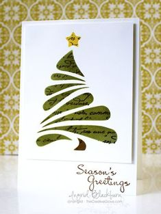 9 More Easy Homemade Christmas Cards with Step by Step Instructions – DIY Fan … – Christmas DIY Holiday Cards Homemade Christmas Cards, Christmas Card Crafts, Xmas Cards, Christmas Art, Diy Cards, Handmade Christmas, Homemade Cards, Holiday Cards, Christmas Card Designs