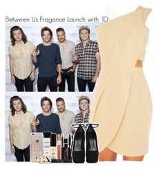 """Between Us Fragance Launch with One Direction"" by lovetini6412 ❤ liked on Polyvore featuring Rifle Paper Co, Oasis, Smashbox, Giuseppe Zanotti, ASOS and modern"